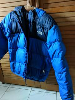 Jaket The North Face 550 Goose Down ORIGINAL FABRICUE EN INDONESIE SIZE 14/16