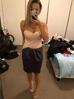 Lipsy silk dress size 8