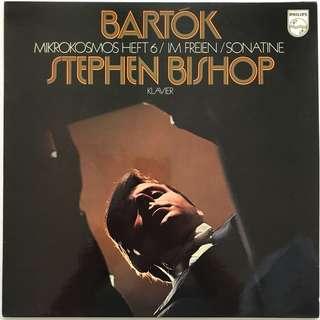 Stephen Bishop plays Bartok Piano works PHILIPS 6500013