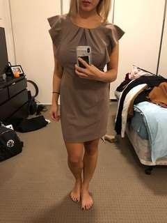 Beige dress size 8