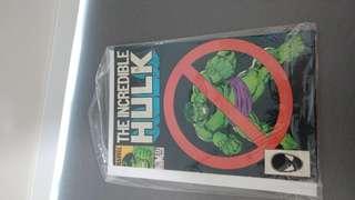 Incredible Hulk # 317 minor key 🔑