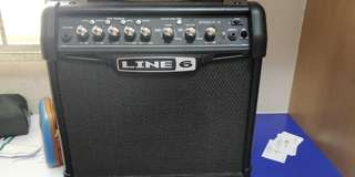Spyder IV 15 line 6 guitar amplifier