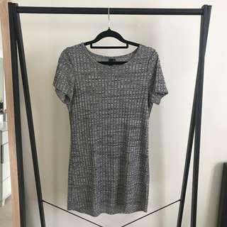 Grey T Shirt Dress