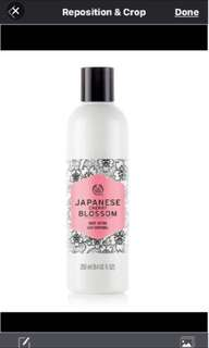 japanese cherry blossom body lotion the body shop 4
