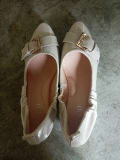 REPRICED!DOLLSHOES WITH 2INCH WEDGE HEELS