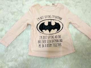 H&M batman top