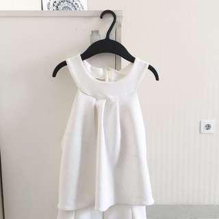 White long jumpsuit