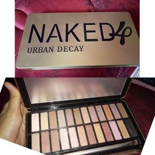 Eyeshadow palette naked 4 urban decay