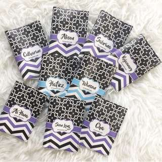 CUSTOM PASSPORT HOLDER chevron