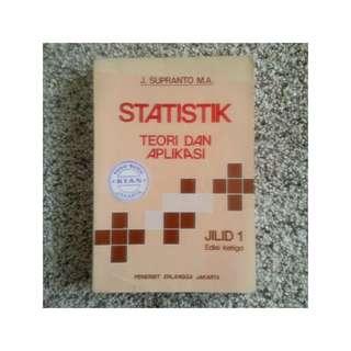 Buku Statistik - Teori dan Aplikasi - J. Supranto M.A.
