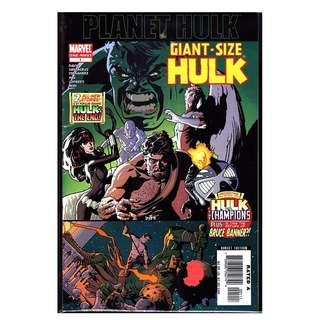Marvel Giant-Size HULK #1 Planet Hulk One-Shot