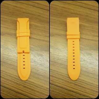 Brand New 24mm Rubber Watch Strap