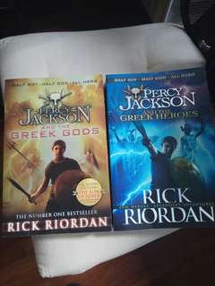 Percy Jackson and the Greek Heroes/Gods