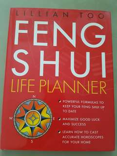 Almost New Lilian Too Feng Shui Life Planner Book