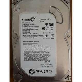 🚚 SEAGATE 500GB 桌上型硬碟