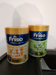 Friso Gold Stage 2 and Stage 3