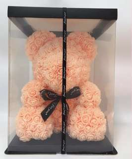 BIEGE ROSE TEDDY VALENTINE BIRTHDAY