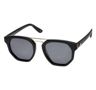"Le Specs ""Thunderdome"" Sunglasses Polarised Black"