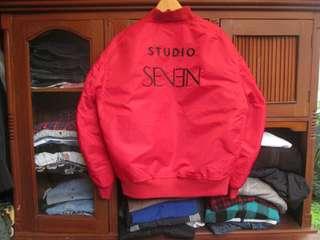 Studio seven bomber jacket, made in japan