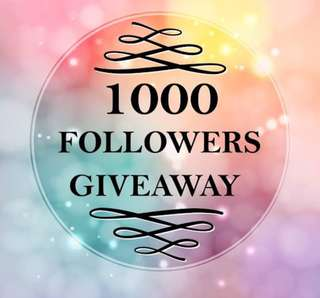 1000 Followers Giveaway!