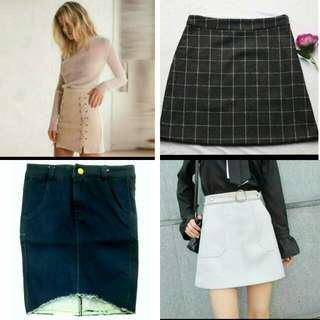 3 FOR 49 !! A line skirt bundle