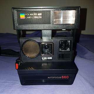 Polaroid land camera 600