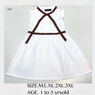 Gucci dress for kids 1-5 Yo (petite) Sizes: M,L,xl,2xl,3xl  Mall Quality
