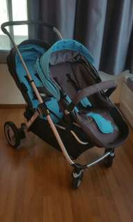 GB twin & single baby stroller buggy GS1000E