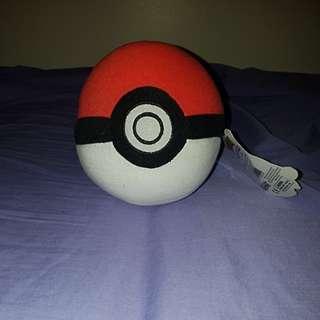 Pokemon ball plush