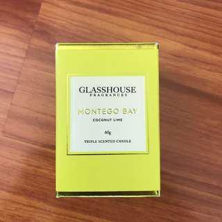 Glasshouse candle