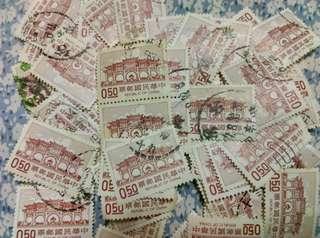 🚚 銷戳郵票   大量  一組20張30元 可隨機出售