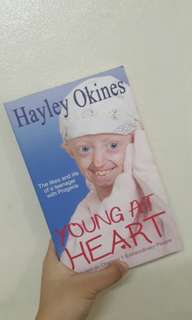 Hayley Okines' Young at heart
