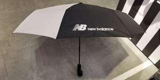 New balance黑白一鍵自動開合雨傘