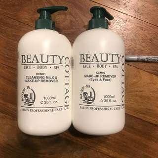 Cleansing milk & make up remover 1 litre