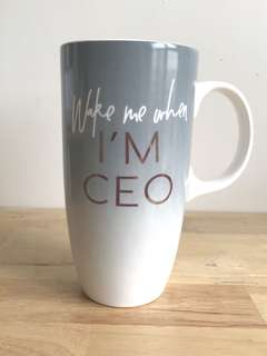 Typo Ceramic Mug