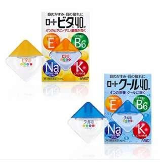 Rohto Eyedrops Japan