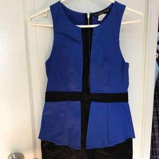 Limite brand blue dress