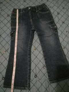 Maong jeans for 4-5yrs old