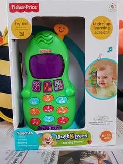 BNIB Fisher Price Laugh & Learn Phone
