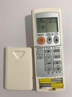 Mitsubishi electric aircon remote equivalent