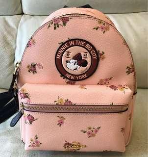 Coach X Minnie mini backpack