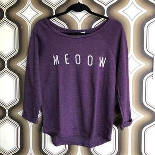 H&M Meooww TOP