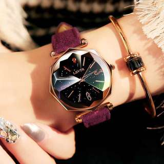Luxury Fashion Women Diamonds Shell Top Quartz Wrist Watches
