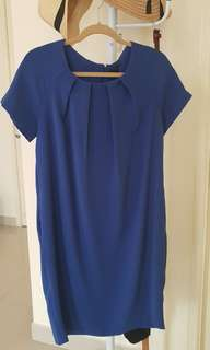 M&S blue dress