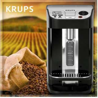 Krups KM 9008 - automatic coffee machine - stainless steel/black