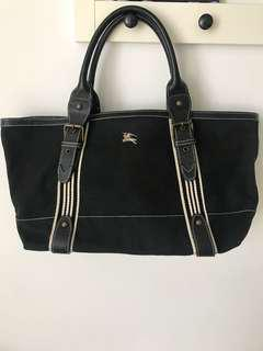 Burberry blue label tote bag