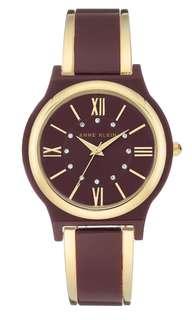 BRAND NEW ANNE KLEIN Crystal Bangle Watch, 36mm