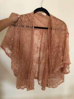 Forever 21 Lace Kimono