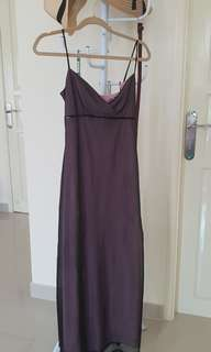 Formal purple night gown (long dress)
