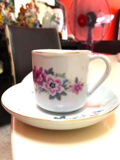 Antique and Classical Cup and saucer